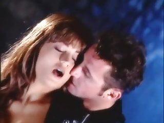 Loureen kiss hard fucking in sexy black stockings...