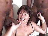 British mature sucking off black cocks