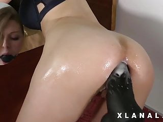 machine by Wife's huge ass fucking anal a destroyed