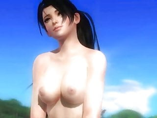 3D Momiji posing (DOA5) Boobs nude