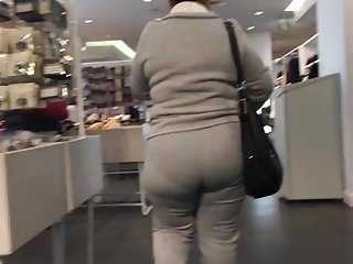 Mexican milf with a in sweats part 2...