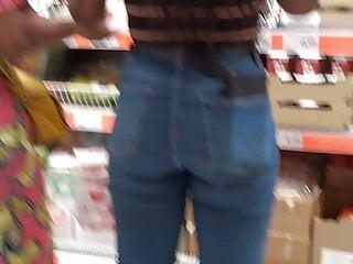 Beautiful Black Teen ass