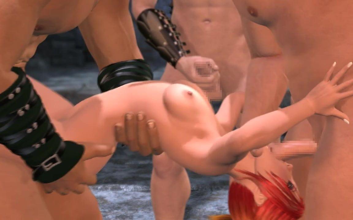3D-Teen DP Fuck - Spera Damno Vol. 3 - Group Sex