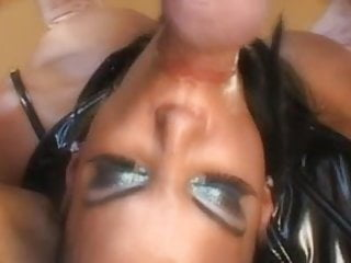 2 ebony sluts white dp...