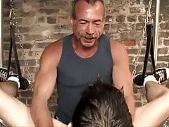 Four Machos And Their Slut