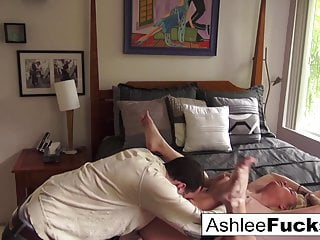 Ashlee and James fuck all around the house