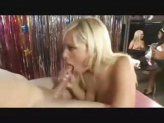 Pornstar Sucks Off Fan