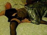 Mistress Tease & Denial of Restrained Sissy Husband