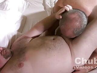 Chubby Man Couple