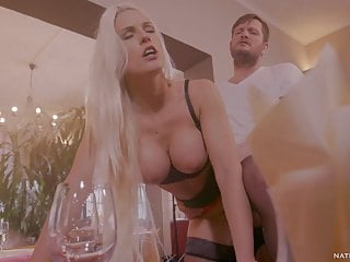 Busty blanche bradburry big ass pounded amp kitchen...