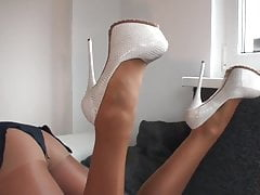 thamina in heels  pantyhose fuckingPorn Videos
