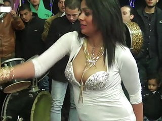 beautiful Dancer Belly  Egyptian boobs With