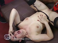 Insatiable Man And Cum Eating Sperma-Milf Angie - 10426