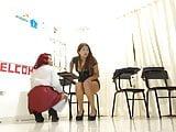Schoolgirls at cam show 1