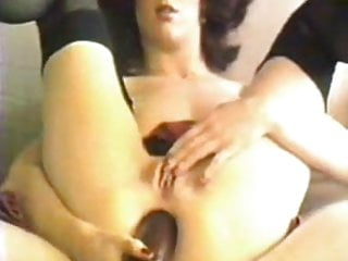 Wooden Dildo Anal (Vintage Anal Play)
