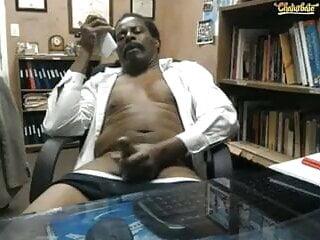 Black Grandpa Cum
