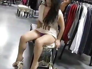 exhibitionist girl