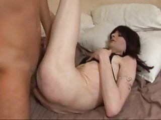 Slender Crossdresser Fucked by Boyfriend
