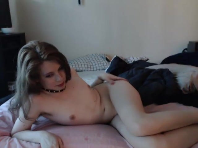 Femboy amateur masturbates stunning unexpectedness! Yes, really