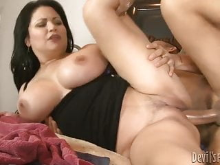 Bangs step mothers pussy and mouth...