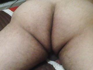 My hairy butt