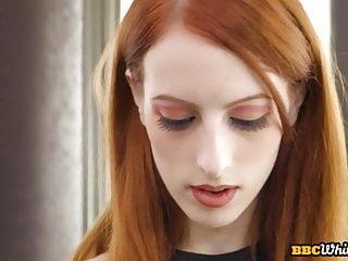 Gape for beautiful redhead slut during ir fuck...