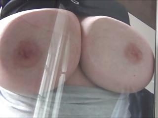 big tits gegen fensterscheibePorn Videos