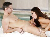 Rimjob Relax with hot brunette Alexi Star