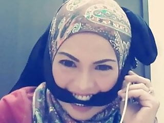 Tudung Smule Gagged