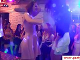 Amateur party euro doggystyled in orgy