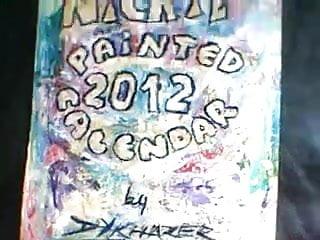 SSBBW Naughty Nickie - demo calendar 2012