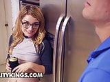 Teens love Huge COCKS - Abby Adams Sean Lawless - Slurping