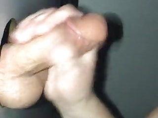 Gloryhole Milf Sucking Cock