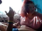 Andra Ilfov distractie pe videochat cu Alex