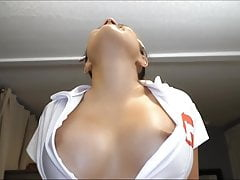 Cosplay Female Nurse Blowjob Cumshot POV