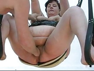 Fisted on the swing and the sofa...