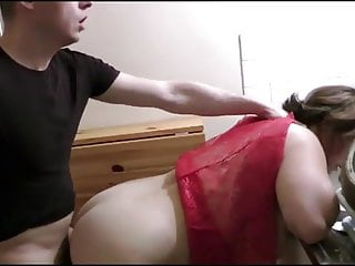 fucked in threesome her while watching is Evy a husbnad
