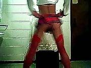 Crossdresser sexy dancing