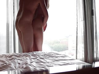 Hung Model Stretches GF on Weekend Getaway