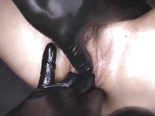 sexual busty russian crystal rush gets oil massage stepsiste