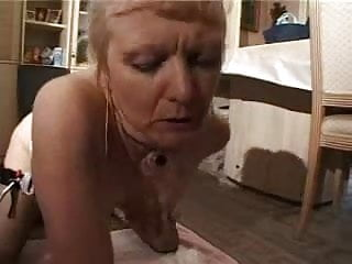 french shaved blonde granny pt9