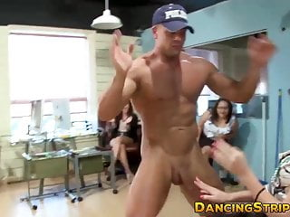 Classy businesswoman fucked by stripper during office party