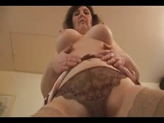 Lovely mature with great body strips for your pleasure.