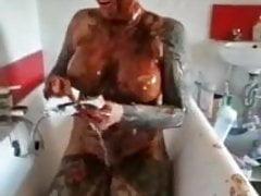 Sex in bathtub