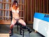 Bondage Horny Girl Bigvibrator Orgasm