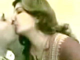 Hot arab girl kiss...