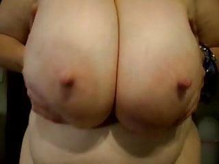 Funbags saggy huge sexy big nipples bounce fun...