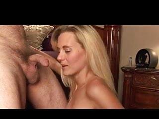 Blonde milf cock balls deep...