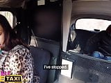 Female Fake Taxi First fare First fuck for Therese Bizarre