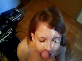 Blowjob Facial Then Keeps On Sucking